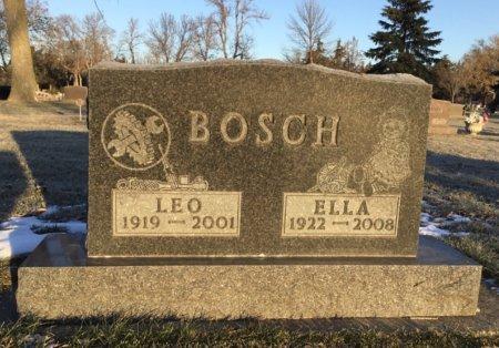 BOSCH, ELLA - Brown County, South Dakota | ELLA BOSCH - South Dakota Gravestone Photos