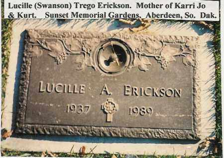 ERICKSON, LUCILLE A. - Brown County, South Dakota | LUCILLE A. ERICKSON - South Dakota Gravestone Photos