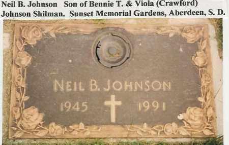 JOHNSON, NEIL - Brown County, South Dakota | NEIL JOHNSON - South Dakota Gravestone Photos