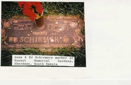"""SCHIRMER, ANNIE KATHERINE """"ANNA"""" - Brown County, South Dakota   ANNIE KATHERINE """"ANNA"""" SCHIRMER - South Dakota Gravestone Photos"""