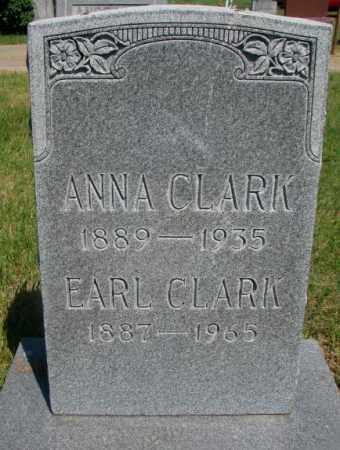CLARK, ANNA - Brule County, South Dakota | ANNA CLARK - South Dakota Gravestone Photos
