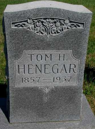 HENEGAR, TOM H. - Brule County, South Dakota   TOM H. HENEGAR - South Dakota Gravestone Photos