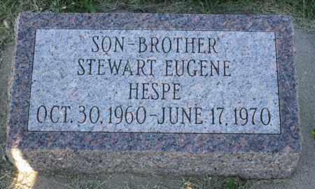 HESPE, STEWART EUGENE - Brule County, South Dakota   STEWART EUGENE HESPE - South Dakota Gravestone Photos