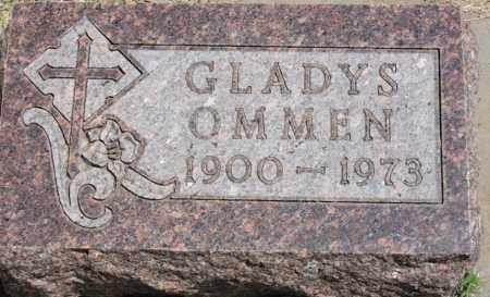 STAHNKE OMMEN, GLADYS - Brule County, South Dakota | GLADYS STAHNKE OMMEN - South Dakota Gravestone Photos