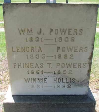 POWERS, LENORIA - Brule County, South Dakota | LENORIA POWERS - South Dakota Gravestone Photos