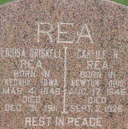 DRISCOLL REA, LOUISA - Brule County, South Dakota   LOUISA DRISCOLL REA - South Dakota Gravestone Photos