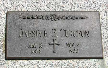 TURGEON, ONESIME - Brule County, South Dakota | ONESIME TURGEON - South Dakota Gravestone Photos