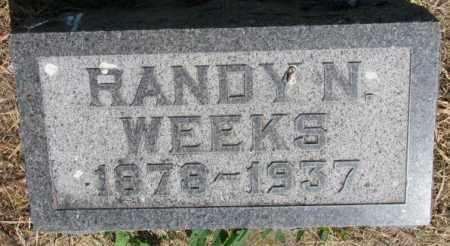 WEEKS, HANDY N. - Brule County, South Dakota   HANDY N. WEEKS - South Dakota Gravestone Photos