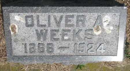 WEEKS, OLIVER A. - Brule County, South Dakota   OLIVER A. WEEKS - South Dakota Gravestone Photos
