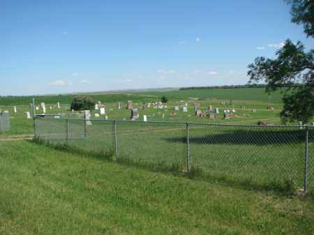 *GANN VALLEY, CEMETERY VIEW - Buffalo County, South Dakota | CEMETERY VIEW *GANN VALLEY - South Dakota Gravestone Photos