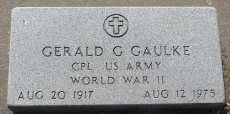 GAULKE, GERALD (G OR C) - Buffalo County, South Dakota | GERALD (G OR C) GAULKE - South Dakota Gravestone Photos