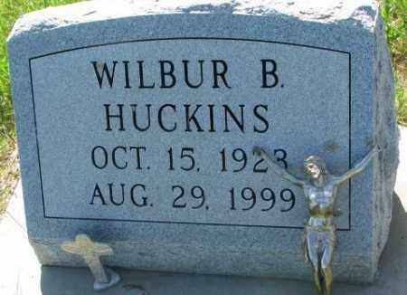 HUCKINS, WILBUR B. - Buffalo County, South Dakota | WILBUR B. HUCKINS - South Dakota Gravestone Photos
