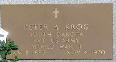 KROG, PETER A. - Buffalo County, South Dakota | PETER A. KROG - South Dakota Gravestone Photos
