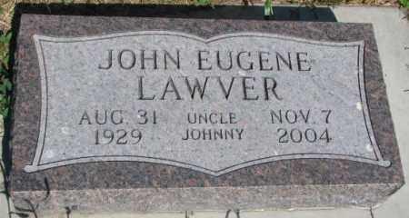 LAWVER, JOHN EUGENE - Buffalo County, South Dakota | JOHN EUGENE LAWVER - South Dakota Gravestone Photos
