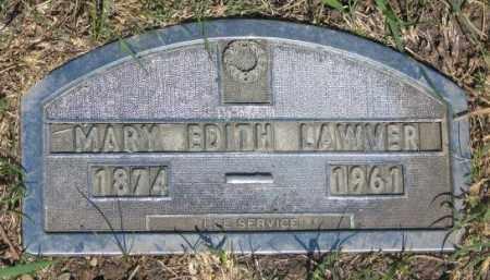 LAWVER, MARY EDITH - Buffalo County, South Dakota | MARY EDITH LAWVER - South Dakota Gravestone Photos