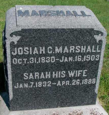 MARSHALL, SARAH - Buffalo County, South Dakota | SARAH MARSHALL - South Dakota Gravestone Photos
