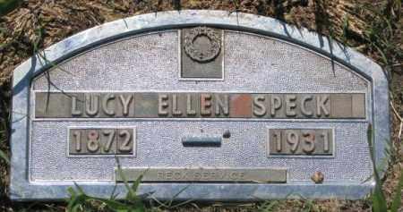 SPECK, LUCY ELLEN - Buffalo County, South Dakota   LUCY ELLEN SPECK - South Dakota Gravestone Photos
