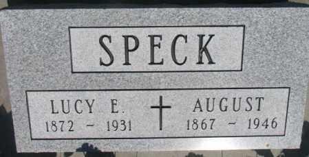 SPECK, LUCY E. - Buffalo County, South Dakota | LUCY E. SPECK - South Dakota Gravestone Photos