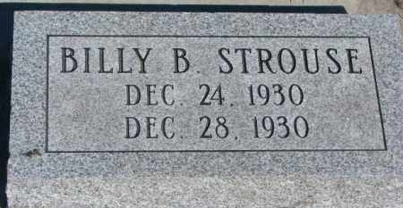 STROUSE, BILLY B. - Buffalo County, South Dakota | BILLY B. STROUSE - South Dakota Gravestone Photos