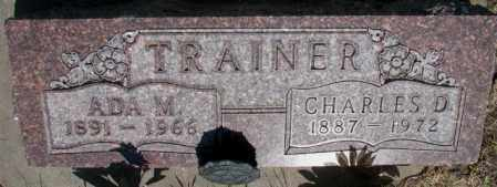 TRAINER, ADA M. - Buffalo County, South Dakota | ADA M. TRAINER - South Dakota Gravestone Photos