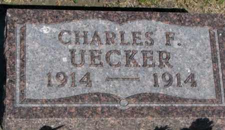 UECKER, CHARLES F. - Buffalo County, South Dakota | CHARLES F. UECKER - South Dakota Gravestone Photos