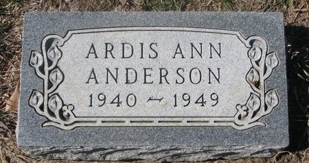 ANDERSON, ARDIS ANN - Charles Mix County, South Dakota | ARDIS ANN ANDERSON - South Dakota Gravestone Photos