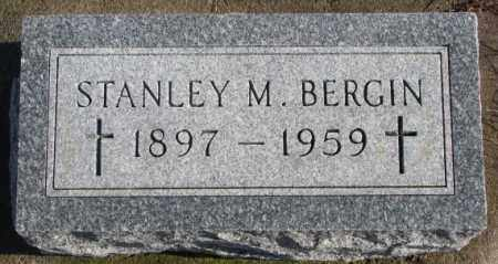 BERGIN, STANLEY M. - Charles Mix County, South Dakota | STANLEY M. BERGIN - South Dakota Gravestone Photos