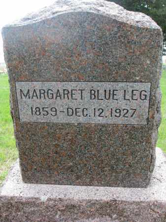 BLUE LEG, MARGARET - Charles Mix County, South Dakota | MARGARET BLUE LEG - South Dakota Gravestone Photos