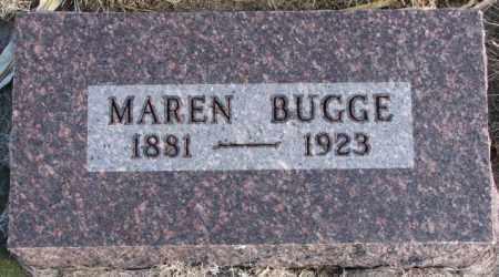 BUGGE, MAREN - Charles Mix County, South Dakota | MAREN BUGGE - South Dakota Gravestone Photos