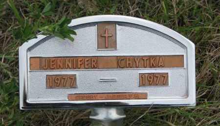 CHYTKA, JENNIFER - Charles Mix County, South Dakota | JENNIFER CHYTKA - South Dakota Gravestone Photos
