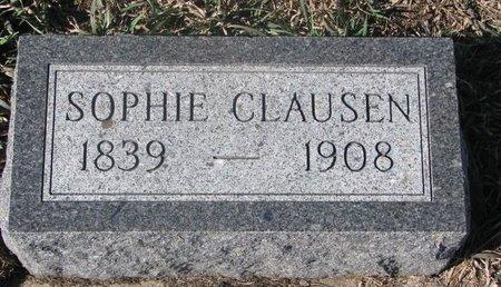 "CLAUSEN, ANNA SOPHIA ""SOPHIE"" - Charles Mix County, South Dakota | ANNA SOPHIA ""SOPHIE"" CLAUSEN - South Dakota Gravestone Photos"