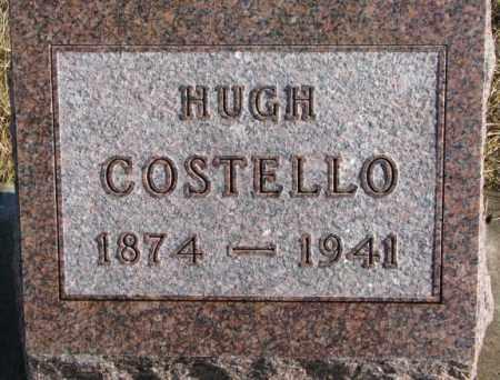 COSTELLO, HUGH - Charles Mix County, South Dakota   HUGH COSTELLO - South Dakota Gravestone Photos