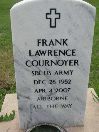 COURNOYER, FRANK LAWRENCE - Charles Mix County, South Dakota | FRANK LAWRENCE COURNOYER - South Dakota Gravestone Photos