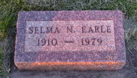 EARLE, SELMA - Charles Mix County, South Dakota | SELMA EARLE - South Dakota Gravestone Photos