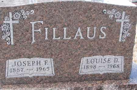 FILLAUS, JOSEPH F. - Charles Mix County, South Dakota | JOSEPH F. FILLAUS - South Dakota Gravestone Photos