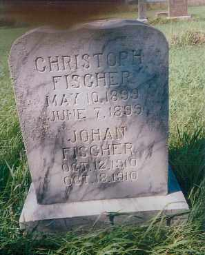 FISCHER, CHRISTOPH - Charles Mix County, South Dakota | CHRISTOPH FISCHER - South Dakota Gravestone Photos