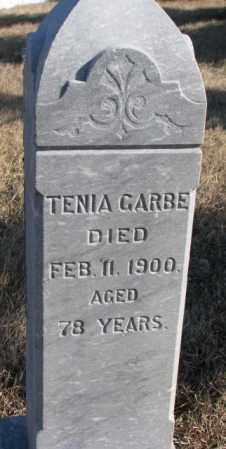 GARBE, TENIA - Charles Mix County, South Dakota   TENIA GARBE - South Dakota Gravestone Photos