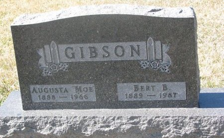 GIBSON, AUGUSTA - Charles Mix County, South Dakota | AUGUSTA GIBSON - South Dakota Gravestone Photos