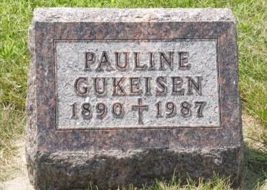 GUKEISEN, PAULINE - Charles Mix County, South Dakota | PAULINE GUKEISEN - South Dakota Gravestone Photos