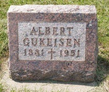GUKESIEN, ALBERT - Charles Mix County, South Dakota   ALBERT GUKESIEN - South Dakota Gravestone Photos