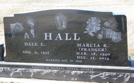 PRANGER HALL, MARCIA K. - Charles Mix County, South Dakota | MARCIA K. PRANGER HALL - South Dakota Gravestone Photos