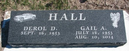 SCHLESINGER HALL, GAIL A. - Charles Mix County, South Dakota | GAIL A. SCHLESINGER HALL - South Dakota Gravestone Photos