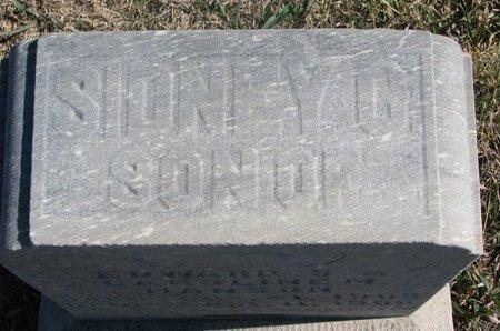 HANSON, SIDNEY C. (TOP OF STONE) - Charles Mix County, South Dakota | SIDNEY C. (TOP OF STONE) HANSON - South Dakota Gravestone Photos