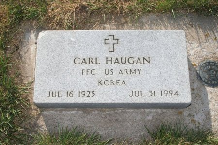 HAUGAN, CARL - Charles Mix County, South Dakota | CARL HAUGAN - South Dakota Gravestone Photos