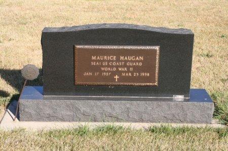 HAUGAN, MAURICE - Charles Mix County, South Dakota   MAURICE HAUGAN - South Dakota Gravestone Photos