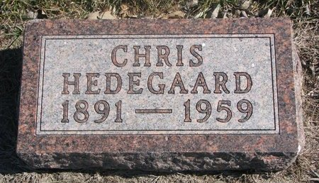 HEDEGAARD, CHRIS - Charles Mix County, South Dakota | CHRIS HEDEGAARD - South Dakota Gravestone Photos