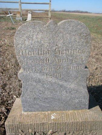 HENNIES, MARTHA - Charles Mix County, South Dakota | MARTHA HENNIES - South Dakota Gravestone Photos