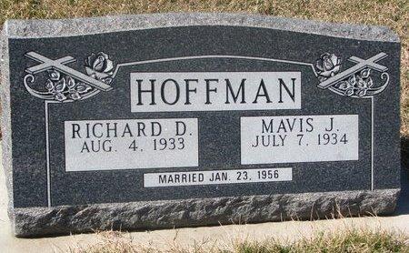 HOFFMAN, MAVIS J. - Charles Mix County, South Dakota | MAVIS J. HOFFMAN - South Dakota Gravestone Photos