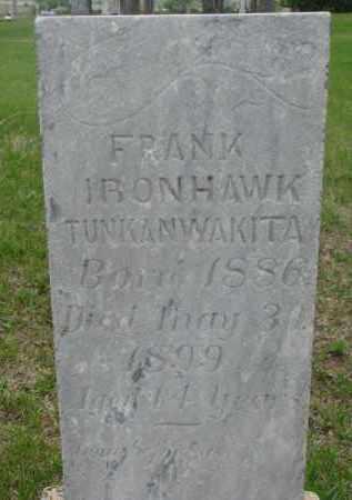 IRONHAWK, FRANK - Charles Mix County, South Dakota | FRANK IRONHAWK - South Dakota Gravestone Photos
