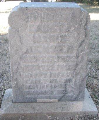 JENSEN, INFANT - Charles Mix County, South Dakota | INFANT JENSEN - South Dakota Gravestone Photos